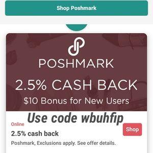 Accessories - Poshmark on IBOTTA!! Get $10 & 2.5% CA$H BACK!!